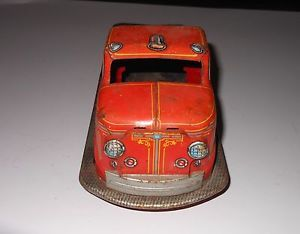 "Marx Fire Engine Truck 14 1 2"" Long"
