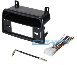 ★ Saturn Car Stereo Radio Dash Installation Mounting Kit w Wiring Harness ★