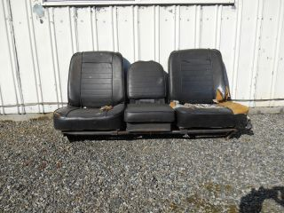 Mopar 1968 Dodge Truck Factory Bucket Seats Power Wagon W200 D200