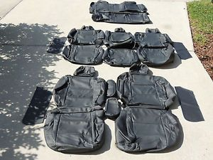 Nissan Pathfinder Armada Leather Interior Seat Covers Seats 2004