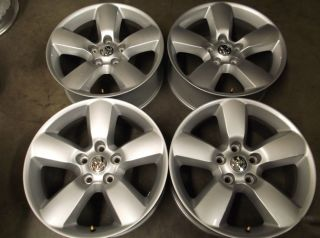 "20"" Dodge RAM 1500 Alloy Wheels Metallic Silver"
