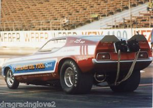"""Atlas Oil Tool Special"" JW Bateman Ford Mustang Nitro Funny Car Photo"