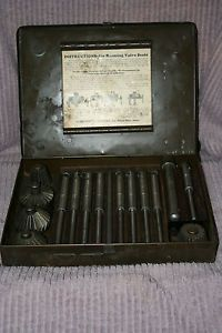 Vintage Sioux Valve Seat Reamer Tool Kit Expandable Pilot Set Ford Model A