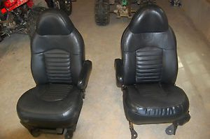 Ford F 150 2000 Harley Davidson Edition Front Seats Leather
