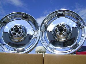 Harley Road King Custom Street Glide Chrome Wheels Rims