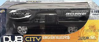 Dodge RAM Pickup Truck Dub City Diecast 1 18 Scale Black