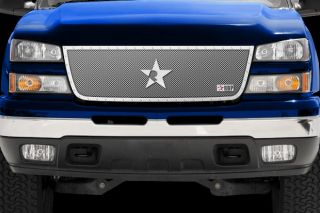 RBP 151107 Chevy Silverado Main Billet Grille RX Series Chrome Truck Grill 1 PC