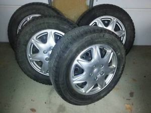Bridgestone Blizzak Revo Snow Tires 225 60R16 on Wheels Fits Honda Odyssey