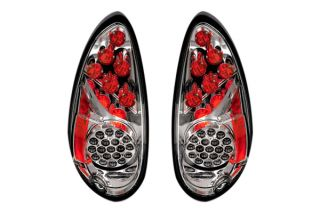 Ipcw 01 05 Chrysler PT Cruiser LED Tail Lights Smoke Car Rear Lighting