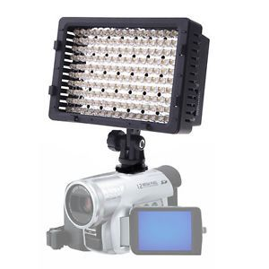 CN 160 LED Camera Video Lamp Light for Canon Nikon DV Camcorder Lighting UK