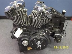 06 Yamaha Road Star Midnight Warrior XV1700 Engine Motor Transmission RUNS39K