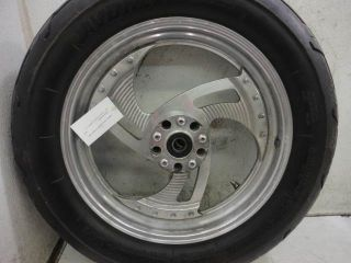 93 Harley Davidson Softail FXSTC Aftermarket Wheel Rim Wheels Rims Set