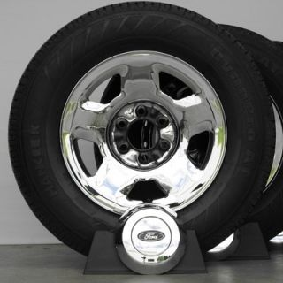 17 Chrome Ford F150 F 150 Factory OEM Wheels Rims Tires