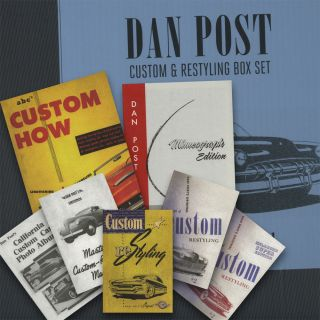 Dan Post Boxed Set of Reprint Custom How to Manual Lot Hot Rod Rat Street