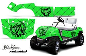 Yamaha Golf Cart Parts Graphic Kit Wrap AMR Racing Decals 95 06 Model Reload G