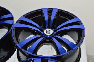 17 Blue Wheels Rim Toyota Corolla Matrix PT Cruiser Neon Honda Civic Accord Juke