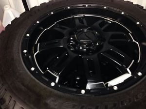 New Toyota Tundra TSS All Terrain Black Wheel BF Goodwrich Tire Package