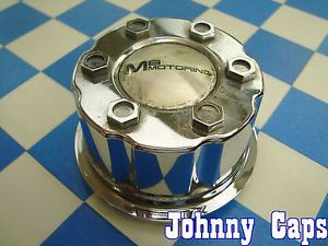 MB Motoring Wheels Chrome Center Caps BC 525 Custom Wheel Chrome Center Cap 1