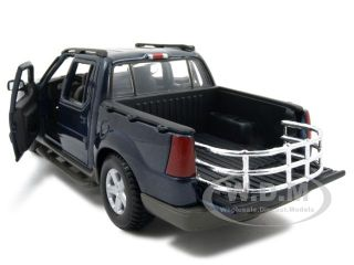 Ford Explorer Sport Trac Blue 1 25 Diecast Model Car