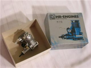 HB Engines 0 15 Nitro Gas R C Motor German Made NOS Model Airplane Radio Control