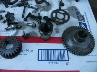 2002 Yamaha Warrior 350 Engine Left Over Parts Gears Al