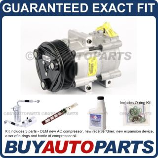 Brand New AC Repair Kit with Genuine Compressor Clutch for Ford F 150