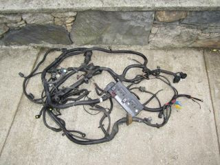 A1 B1 Jeep TJ Wrangler Complete 2 5 Engine Wiring Harness 97 02 Wire 4 Cyl
