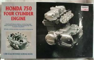 Minicraft Honda 750 4 Cylinder Engine Model Kit 1 3