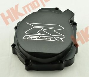 Black Engine Cover Crank Case F Suzuki GSXR600 750 2004 2005 GSXR1000 2003 2004