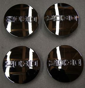 "2030 Aftermarket Chrome Center Caps for Chevy GMC Cadillac Wheels 3 25"" FreeShip"