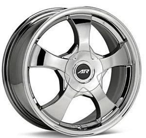 "AR Chrome Wheels 16"" Off A 2010 Nissan Altima Aftermarket Set of 4 Rims"