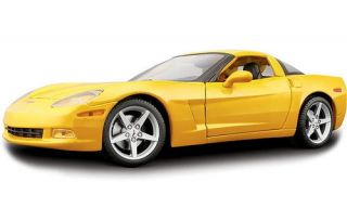 2005 Chevrolet Corvette Maisto Special Edition Diecast 1 18 Scale Yellow