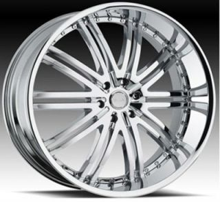 "22"" D1 CV CH Wheels and Tires Rims for Chevy Cadillac Ford RAM Toyota"