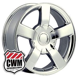 "20x8 5"" Chevy Silverado SS Style Chrome 6 Lug Wheels Rims for Chevy Tahoe 2013"
