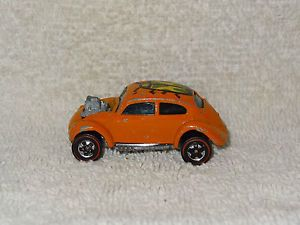Vintage Mattel Hot Wheels Custom Volkswagen Baja Beetle Bug Diecast Car 1967