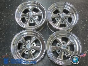 Four Chevy Ford Dodge Cragar SS Chrome 15 Wheels Rims 15x7 5x4 5 5x4 75 5x5