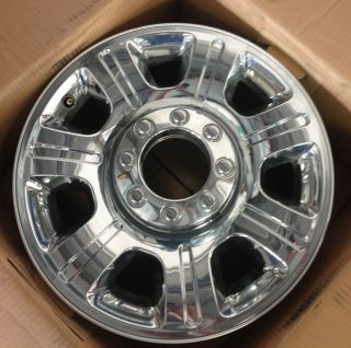 "Ford Super Duty Wheels 20"" Chrome Package"
