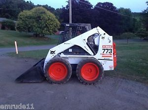 Bobcat 773 Skid Steer Loader Rubber Tire Bob Cat Wheel Loader Backhoe Ready