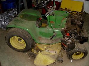 John Deere Riding Mower Sold as Is Older Model 212 Series Great for Parts
