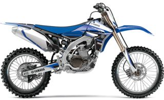 Yamaha Gytr Graphic Kit by One Ind Fits '10 YZ450F