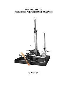 Model Airplane Engine Dynamometer Performance Analysis 25 Page Article