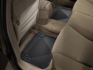 Weathertech® All Weather Floor Mats 1989 2007 Honda Accord Black