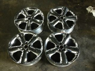 2000 2005 Chrysler PT Cruiser Factory 17' Chrome Wheels Rims Complete Set