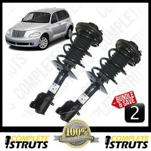 Chrysler PT Cruiser New Quick Complete Front Struts Coil Spring Pair