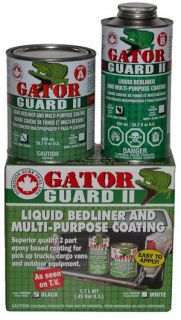 Gator Guard II Truck Bed Liner Kit Black Bedliner