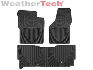 Weathertech® All Weather Floor Mats 2008 2010 Ford Super Duty Supercab Black