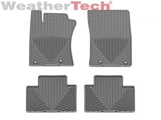 Weathertech® All Weather Floor Mats Toyota 4Runner 2013 2014 Grey