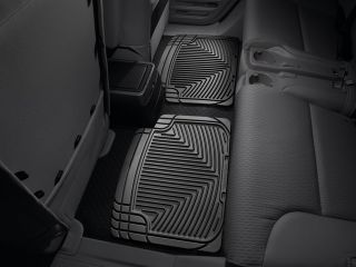 Weathertech® All Weather Floor Mats 2003 2010 Honda Element Black