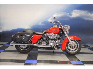 Red Ready 05 HD Road King Classic Flhrci 88CI Tons of Chrome Financing Avail