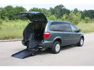 2007 Town Country LX Wheelchair Handicap Accessible Van